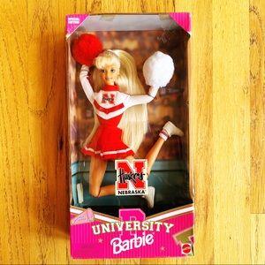 University Barbie ⭐️ Nebraska Huskers 1996